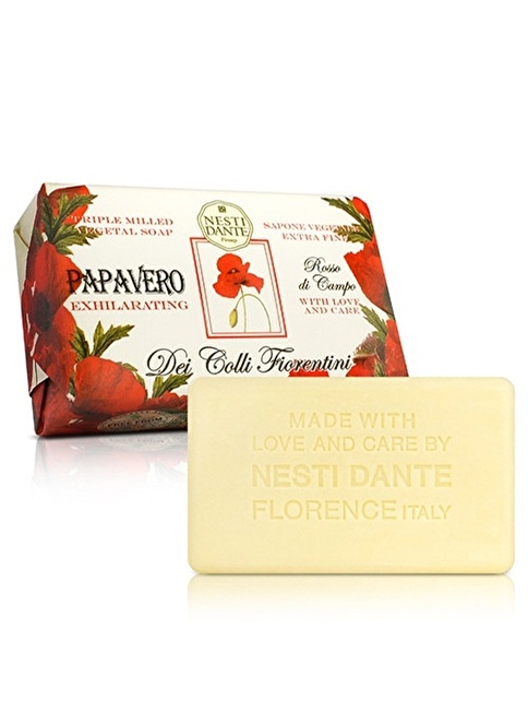 Nestidante Deı Collı Fıorentını Papavero Exhılaratıng  Sabun 250 Gr Renksiz